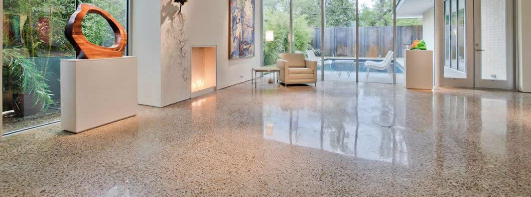 spokane polished concrete flooring